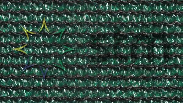 tela para sombreamento verde preto